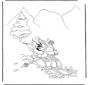Diddl y el deporte invernal