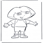 Dibujos Infantiles - Dora 1