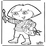 Dibujos Infantiles - Dora 10