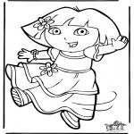 Dibujos Infantiles - Dora 11