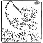 Dibujos Infantiles - Dora 6