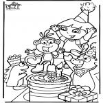 Dibujos Infantiles - Dora 7