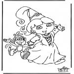 Dibujos Infantiles - Dora 8