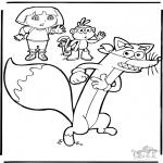 Dibujos Infantiles - Dora 9