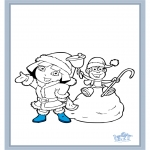 Invierno - Dora en Invierno