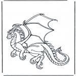 Animales - Dragón 1