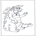 Animales - Dragón 3