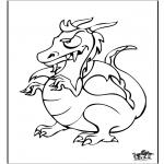 Animales - Dragón 6