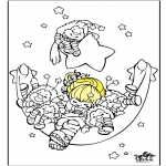 Dibujos Infantiles - Durmiendo 2