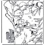 Láminas de la Biblia - El Arca de Noé 1