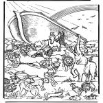 Dibujos de la Biblia - El Arca de Noé 5