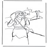 Dibujos de la Biblia - El Buen Pastor 2