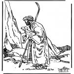 Dibujos de la Biblia - El Buen Pastor 3