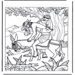 Dibujos de la Biblia - El buen Samaritano 1