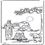 Dibujos de la Biblia - El hijo pródigo 1