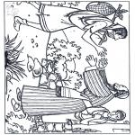 Dibujos de la Biblia - El hijo pródigo 2