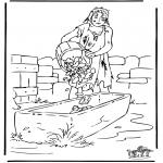 Dibujos de la Biblia - El hijo pródigo 3