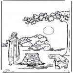 Dibujos de la Biblia - El hijo pródigo 4