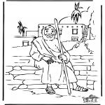Dibujos de la Biblia - El hijo pródigo 5