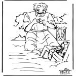 Dibujos de la Biblia - El tesoro