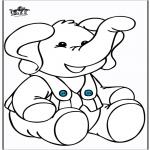 Animales - Elefante 10