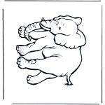 Animales - Elefante 4