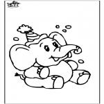 Animales - Elefante 8
