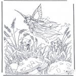 Diversos - Elfo volador