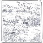 Animales - Elfo y pato