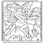 Diversos - Elfos bailando