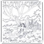 Diversos - Elfos en el bosque