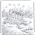 Diversos - Elfos y tortuga