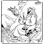 Dibujos de la Biblia - Elias