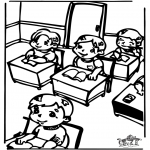 Dibujos Infantiles - En clase 2