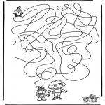 Manualidades - Encuentra el camino a Dora