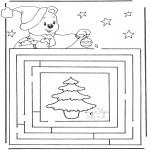 Navidad - Encuentra el camino a la Navidad 3