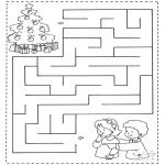 Manualidades - Encuentra el camino a los niños