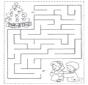 Encuentra el camino a los niños