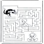 Manualidades - Encuentra el camino a Piolín
