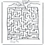 Manualidades - Encuentra el camino al Dálmata