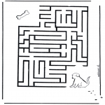 Manualidades - Encuentra el camino al perro