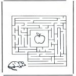 Manualidades - Encuentra el camino al ratón