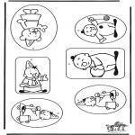 Manualidades - Etiqueta para regalos - Bumba