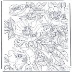 Diversos - Flores y elfos