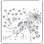 Manualidades - Fuegos de artificio