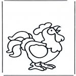 Animales - Gallo cantando