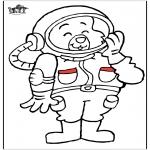 Diversos - Gato astronauta