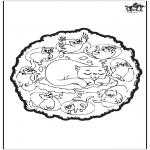 Mandalas - Gatos - Mandala