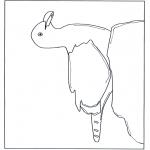 Animales - Gaviota sobre una piedra