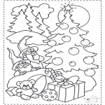 Navidad - Gnomos y árbol navideño